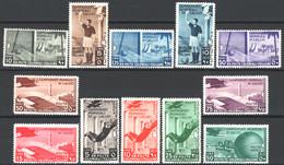 Colonie Em.Generali 1934 Calcio Sass.46/50+A31/37 */MH VF/F - Algemene Uitgaven