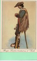 40----LA LANDE--Berger Tricotant Au 18è Siècle--( Reproduction D'une Gravure Landaises Du 18è Siècle )---voir 2 Scans - Unclassified