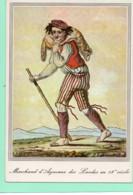 40----LA LANDE--Le Marchant D'agneaux Des Landes--( Reproduction D'une Gravure Du 18è Siècle )---voir 2 Scans - Unclassified