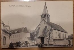 Carte Postale Blangy Lez Arras L'église Animée - Andere Gemeenten