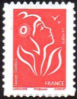 France Marianne De Lamouche Autoadhésif N°   49,B ** Au Modèle 3802 Ab - TVP Rouge (Philaposte) - Sellos Autoadhesivos