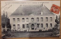 Carte Postale Environs D'Avesnes Le Comte Château De Bavincourt - Andere Gemeenten