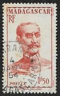 MADAGASCAR  1946 -  Y&T  308  -  Général Gallieni - Oblitéré - Used Stamps