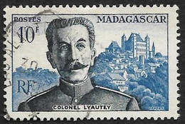 MADAGASCAR  1954  -  Y&T  325-  Lyautey   - Oblitéré - Used Stamps