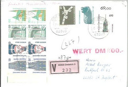 LETTER REGISTERED  DREIEICH - Covers & Documents