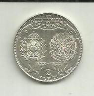 2000 Réis 1922 Brasil Silver - Brazil