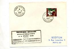 Lettre Cachet Tananarive Semaine De L'arbre - Madagaskar (1960-...)