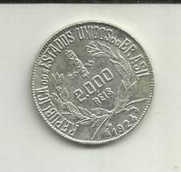 2000 Réis 1924 Brasil Silver - Brazil