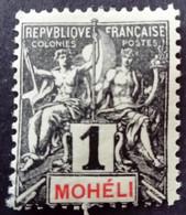 Moheli 1906 Yvert 1 * MH - Neufs