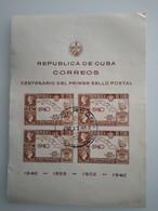 CUBA - 1940 BF N° 2 O (voir 2 Scan) - Blocchi & Foglietti