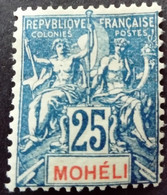 Moheli 1906 Yvert 7 * MH - Neufs
