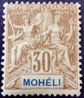 Moheli 1906 Yvert 8 * MH - Neufs