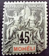 Moheli 1906 Yvert 11 * MH - Neufs