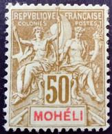 Moheli 1906 Yvert 12 * MH - Neufs