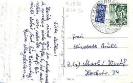 Allemagne Zone Française  1949  Lettre De Andernach    (G0986) - Zona Francesa