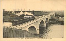 EPINAY Sur SEINE Passage Du Train Sur Le Nouveau Pont - Andere Gemeenten