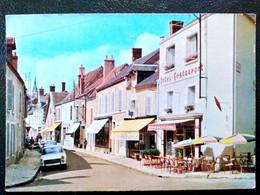 45 ,chatillon Sur Loire ,la Grande Rue Et Ses Commerces  En 1978 ..cpsm...gf....  Scan Recto Verso - Chatillon Sur Loire