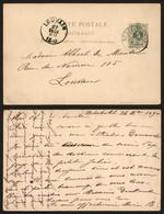 Belgique 1890 - Entier Postal Nederbrakel Vers Louvain - AK [1871-09]