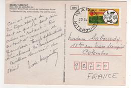 """Beau Timbre , Stamp """" Productivité Agricole """" Sur Cp , Carte , Postcard Du 30/04/1981 - Cartas"""
