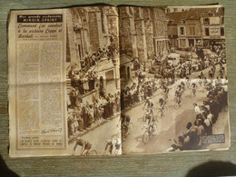 Miroir Sprint 25 Juillet 1949 164 Tour De France Neuchâtel Lausanne Colmar  Nancy Sezanne Quincaillerie Commun Cyclisme - 1900 - 1949
