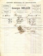 27.EURE.LE NEUBOURG.GRAND MAGASIN DE NOUVEAUTES.GEORGES BELLÉE 23 RUE DUPONT DE L'EURE. - Textile & Vestimentaire