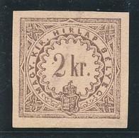 1868. Newspaper Stamp, Typography 2kr - Kranten