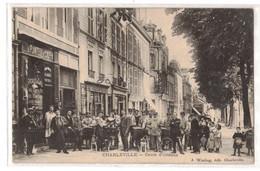 Charleville.- Cours D'Orléans- J. Winling- Quatre Voitures à Chien - Charleville
