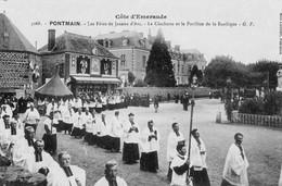 PONTMAIN - Les Fêtes De Jeanne D'Arc - La Clochette Et Le Pavillon De La Basilique - Pontmain