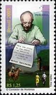 BRAZIL #2961  -  WRITER  ÉRICO VERÍSSIMO  -  HORSEMAN  - 2005 - Neufs