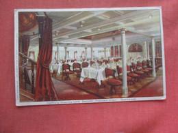 Hamburg Amerika Line President Grant Dining Room      Ref 4668 - Dampfer