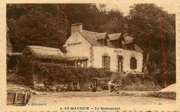 Clohars Carnoët * St Maurice * Le Restaurant Buvette * Village Hameau * Automobile Voiture Ancienne - Clohars-Carnoët