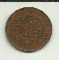 5 Réis 1901 D. Carlos I Portugal/Açores - Azores