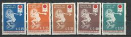 PARAGUAY  Année  1964  LOT  12 - 5   Timbres Neuf - Paraguay