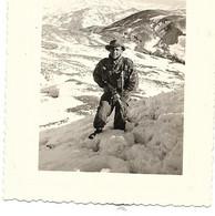 PHOTOGRAPHIE  ALGERIE BOUGIE S/M FUSILIER TOUSSER CANONIER LE GEARD  JANVIER 1960 O.P FLORIEUSE - Andere Städte
