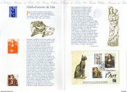 """"""" PHILEXFRANCE 1999 / LA JOCONDE /.... """" Sur Document Philatélique Officiel De 4 Pages N° YT BF 23  En Parfait état ! - Museums"""