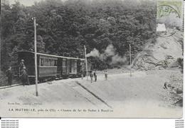 """CORBION ..-- TRAIN  Français à """"  LA HUTRELLE  """" , OLLY , Vers SEDAN . Vers SORGUES . Voir Verso . - Bouillon"""