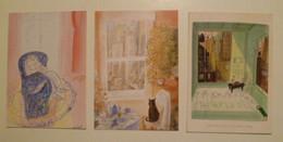 Lot De 3 Cartes Postales / Illustrateur Sempé - Sempé