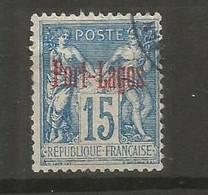 Timbre Colonie Française Port-Lagos Oblitéré N 3 - Used Stamps