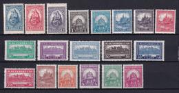 HONGRIE - ANNEE COMPLETE 1926 - YVERT N° 379/397 * MLH (QUELQUES ** MNH Dont 395+396) - COTE = 160+ EUR. - Volledig Jaar