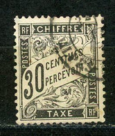 FRANCE - TAXE  - N° Yvert 18 Obl - 1859-1955 Used