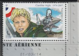 FRANCE 2014 CAROLINE AIGLE POSTE AERIENNE NEUF** - PA78a - PA 78a - - 1960-.... Ungebraucht
