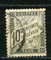 FRANCE - TAXE  - N° Yvert 15 Obl - 1859-1955 Usados