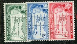 BC 2455 Antigua 1958 Mnh** SG.135-37 Offers Welcome! - 1858-1960 Kronenkolonie