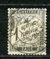 FRANCE - TAXE  - N° Yvert 10 Obl - 1859-1955 Used
