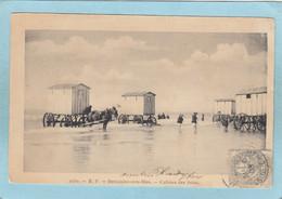 BOULOGNE - SUR- MER  -  CABINES  DE  BAINS  -  1903  - - Boulogne Sur Mer