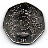 Ouganda - 10 Shillings 1987 - SPL - Uganda