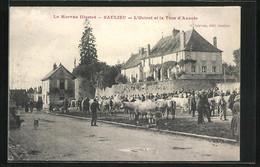 CPA Saulieu, L`Octroi Et La Tour D`Auxois - Saulieu