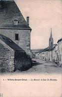 Belgique - Florenville - Villers-devant-Orval - Le Manoir Et Rue De Margny - Florenville