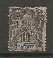 Timbre Colonie Française Mayotte Oblitéré N 5 - Used Stamps