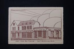 FRANCE - Carte - Le Neubourg - Projet D'Architecte Pour Le Normandy Bar - Hôtel Du Beuvron - L 88604 - Le Neubourg